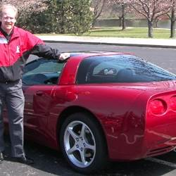 Bartlett A's 2004 Chevrolet Corvette