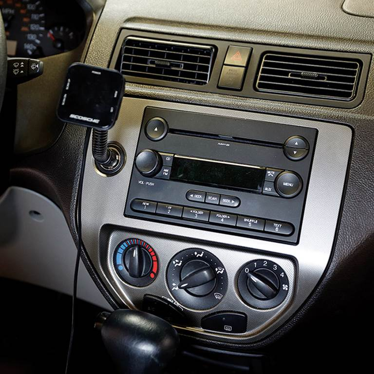 A high-schooler's first car stereo installation