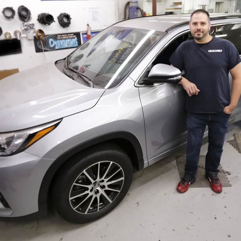Custom sound for a 2017 Toyota Highlander