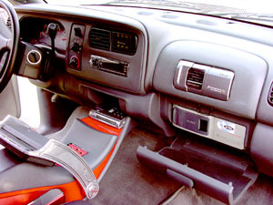 In-dash CD, DVD Discman, TV, CD changer, and MD changer
