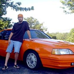 Tim Jones's Tangerine Ford T-Bird