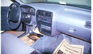 1994 Nissan Hardbody Factory Radio