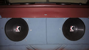 Kicker Freeair subs