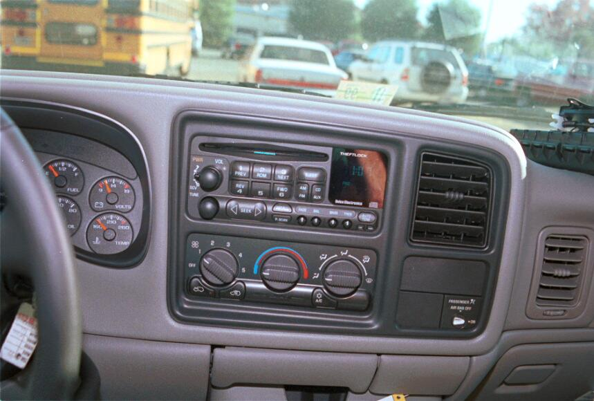Upgrading the Stereo System in Your 1999-2002 Chevy ...