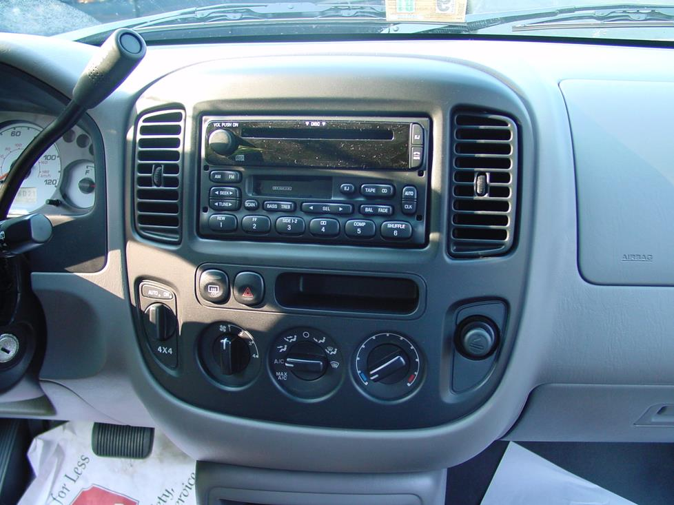 Ford Escape factory stereo