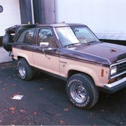 1988 Ford Bronco II Exterior