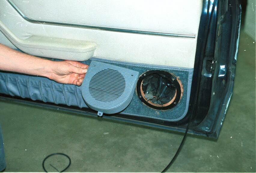 ford mustang door speaker