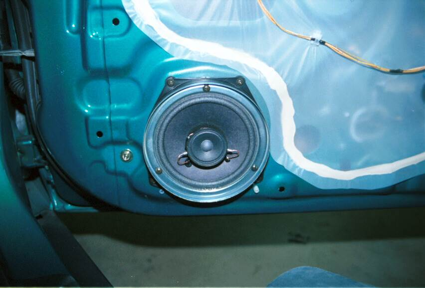acura integra front door speaker
