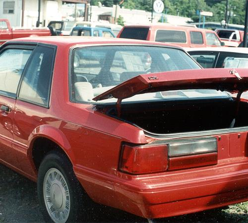 1987 Ford Mustang Exterior