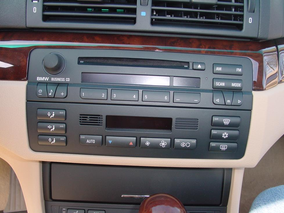 BMW 3 Series radio
