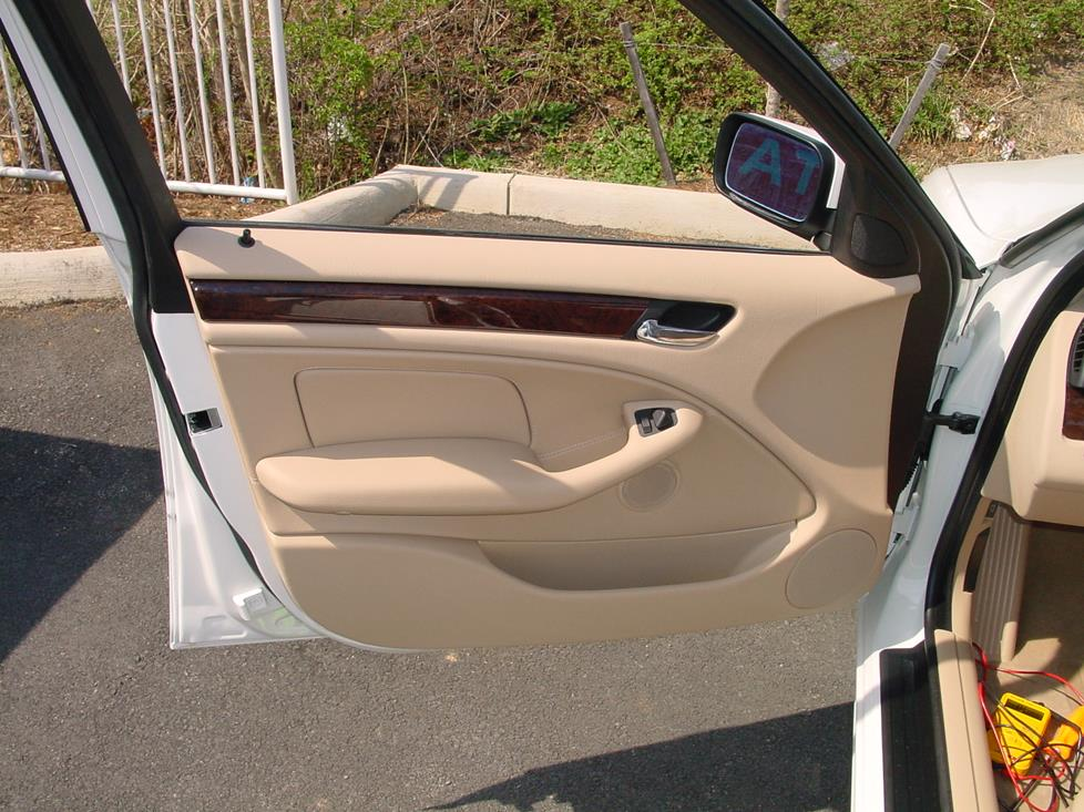 BMW 3-series sedan front door