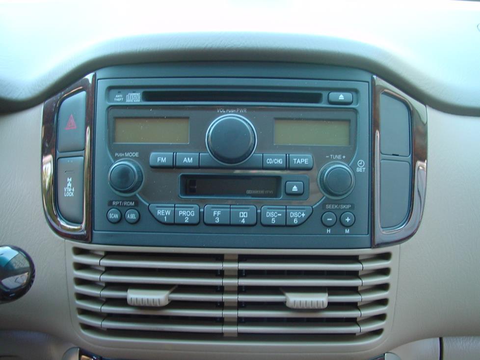 Honda Pilot Stereo Receiver
