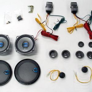 we'll include your free crutchfield wiring harnesses, speaker brackets (if  necessary), and mastersheet instructions with your order