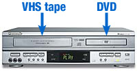 dvd/vcr combo