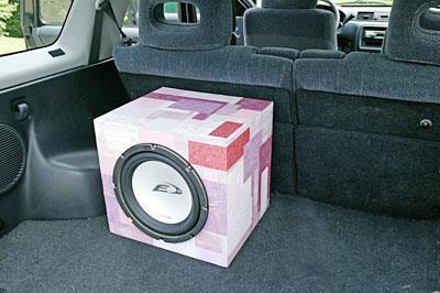 Customizing Your Subwoofer Box on homemade speaker designs, car audio speaker box designs, custom subwoofer box designs, homemade car designs,