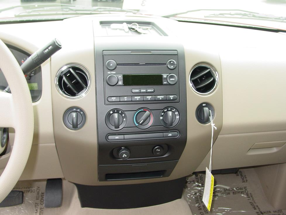 Ford F-150 factory radio