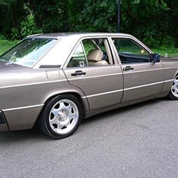 1991 Mercedes-Benz 190E - find speakers, stereos, and dash ... on