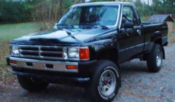West Craft's 1987 Toyota Pickup