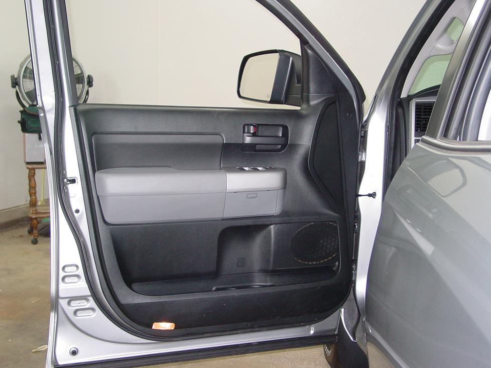 Toyota Tundra front door speakers