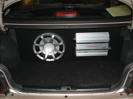 Brand new trunk set-up