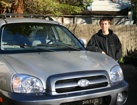 Ari and his Hyundai