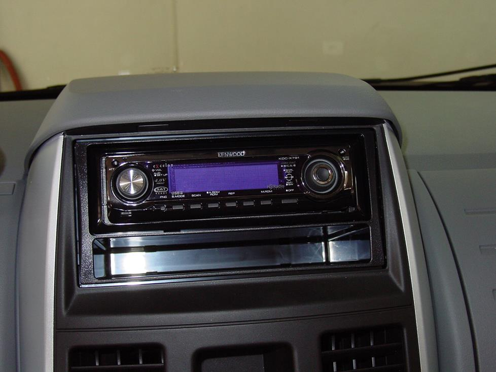 chrysler torn and country radio kit