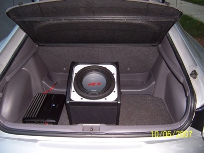 Trunk with Subwoofer