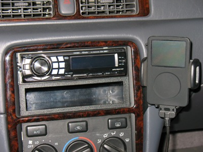 My head unit and iPod/><p class=