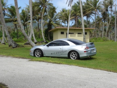 Slammed and parked at the beach in Guam/><p class=