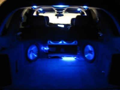 Subs all lit up