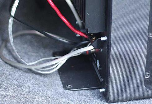 subwoofer wiring