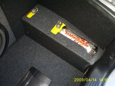 Rockford Fosgate Gel cell battery.