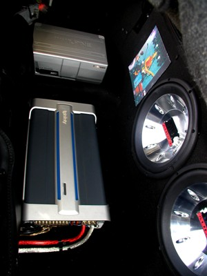 Amp Subs and Changer