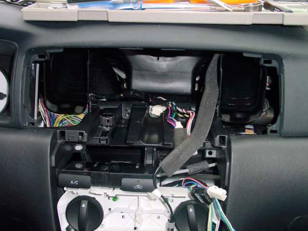 2004 Toyota Corolla dash disassembly