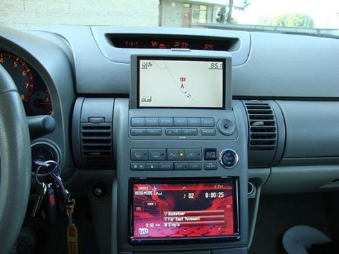 Custom dash with aftermarket stereo