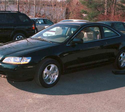 2001 Honda Accord Exterior