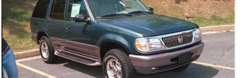 1997 Mercury Mountaineer Exterior