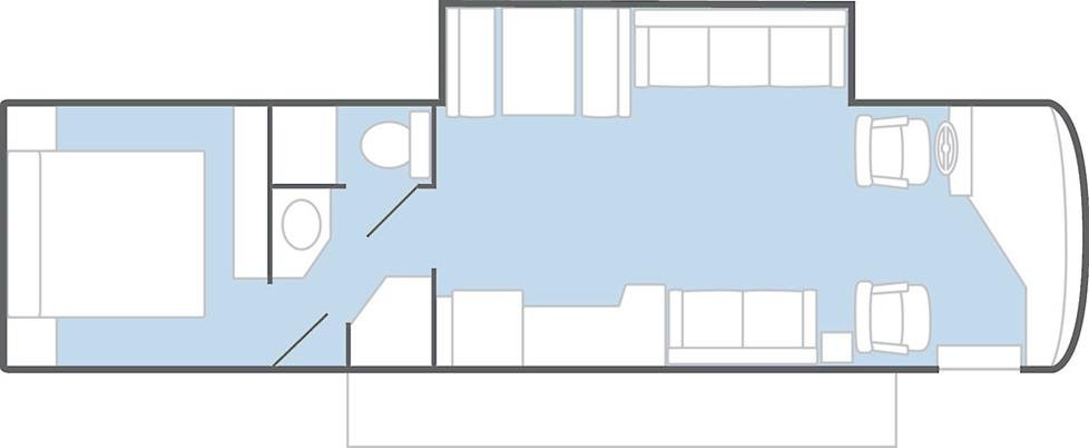 Floorplan of RV