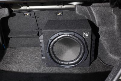 Sony subwoofer and amps