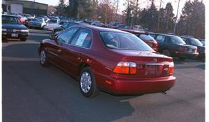 1996 Honda Accord LX Exterior