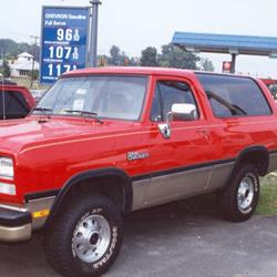 1993 Dodge Ramcharger Exterior