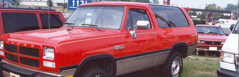 1991 Dodge Ramcharger Exterior