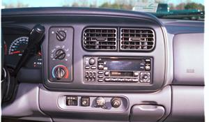 1998 Dodge Durango Factory Radio