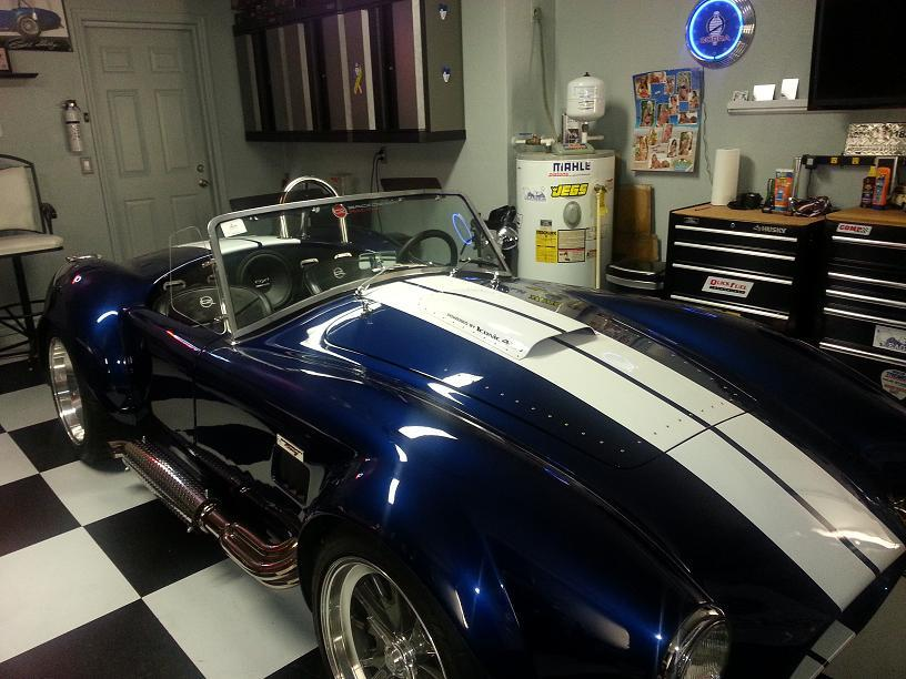 Mike S's 1965 Shelby Cobra Roadster replica