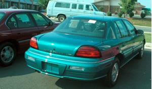 1995 Pontiac Grand Am Exterior