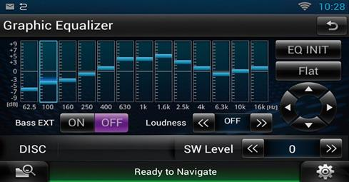 equalizer screen