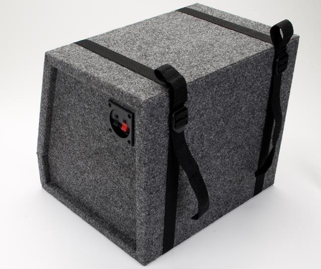 carpeted sub box