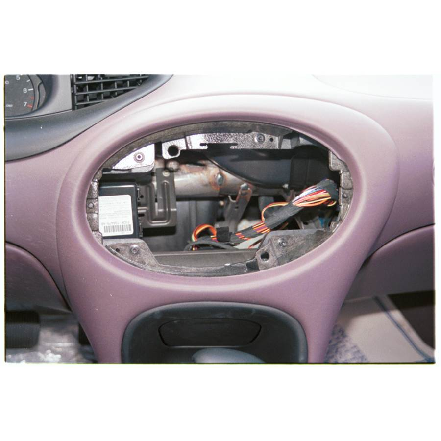 1996 Mercury Sable G Factory radio removed