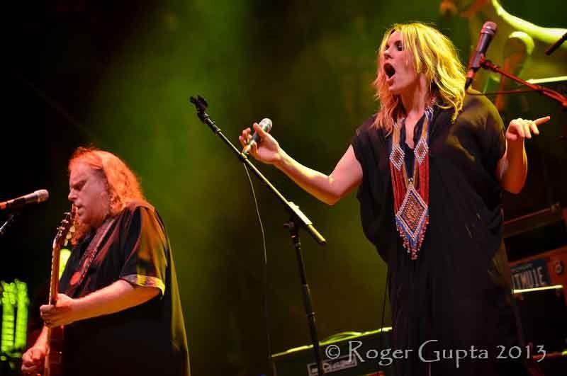 Warren Haynes and Grace Potter