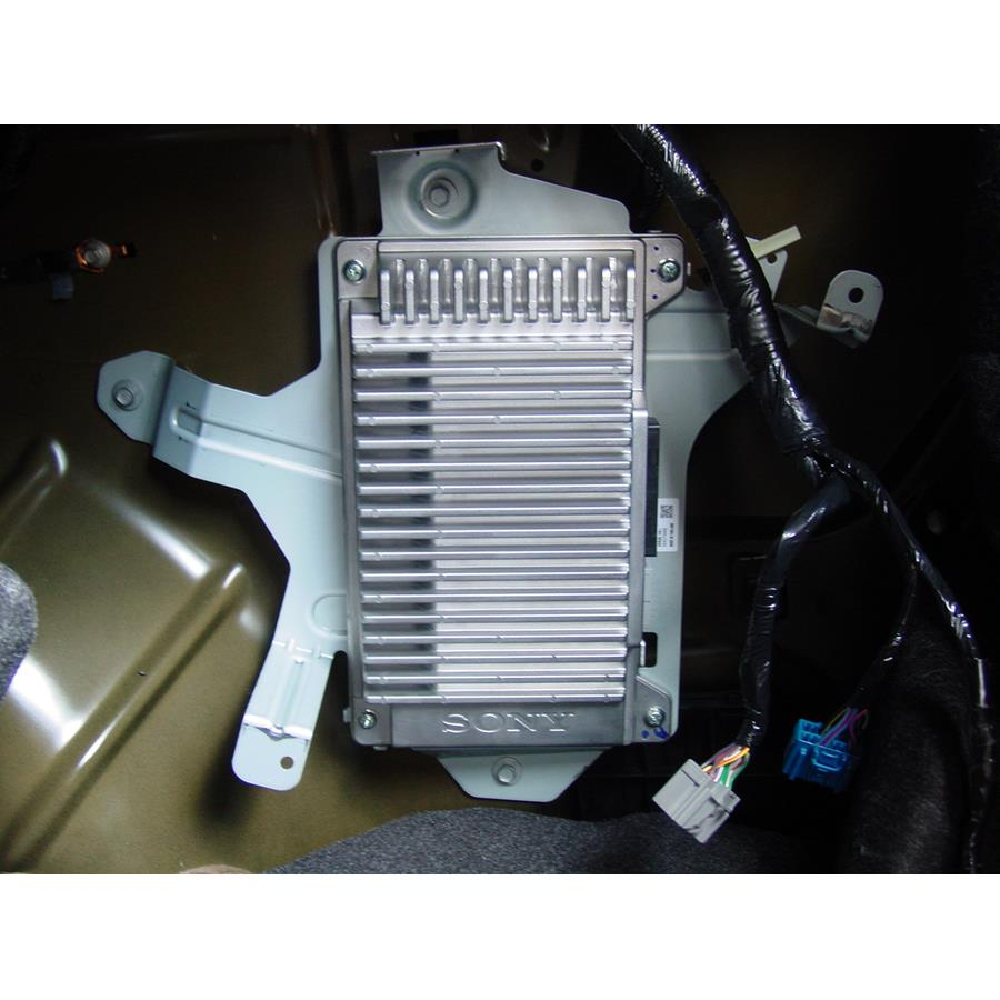 2012 Ford Fusion Factory amplifier